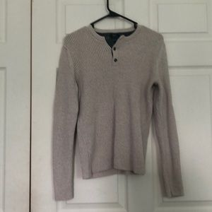 Oatmeal colored American Tag Sweater.  Mens  S